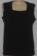 1000 Ladies Square Neck Sleevless Top